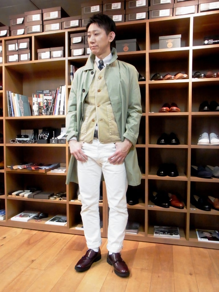 "PRIVATE WHITE ""GOODWOOD WORKSUIT""STYLING企画 【青山本店編】"