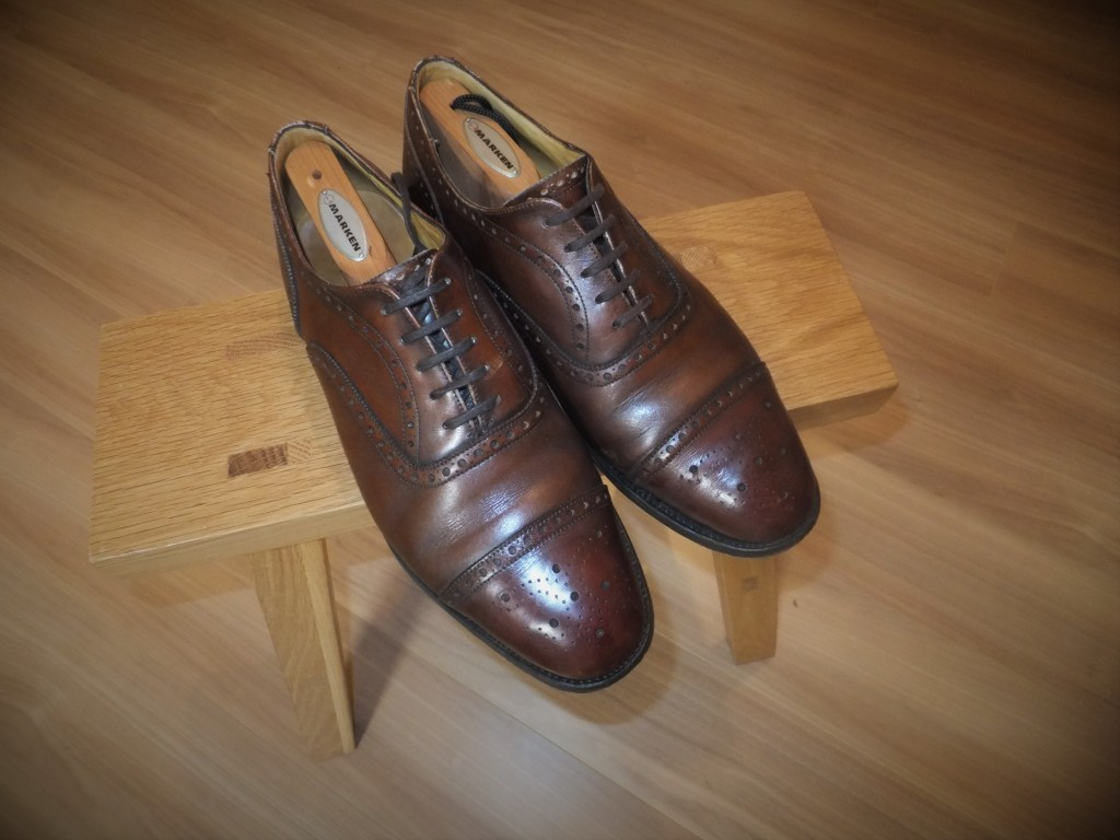My First English Shoes