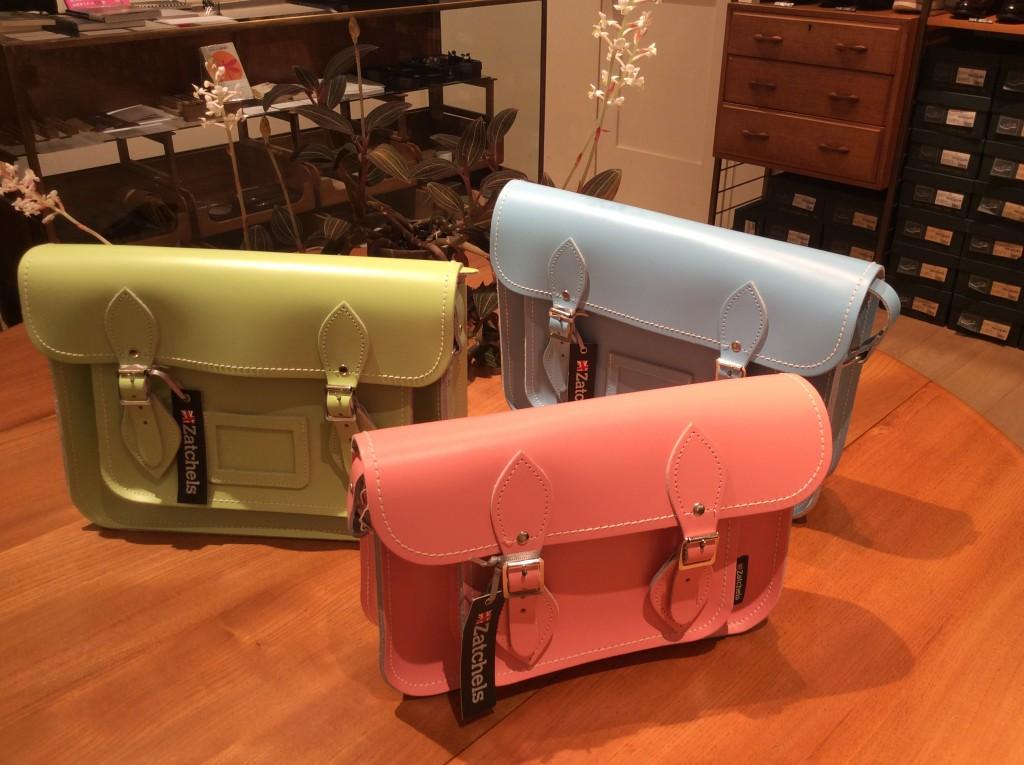 Satchel Pastel Color 11.5inc ¥25,800-+tax 13inc ¥26,800-+tax