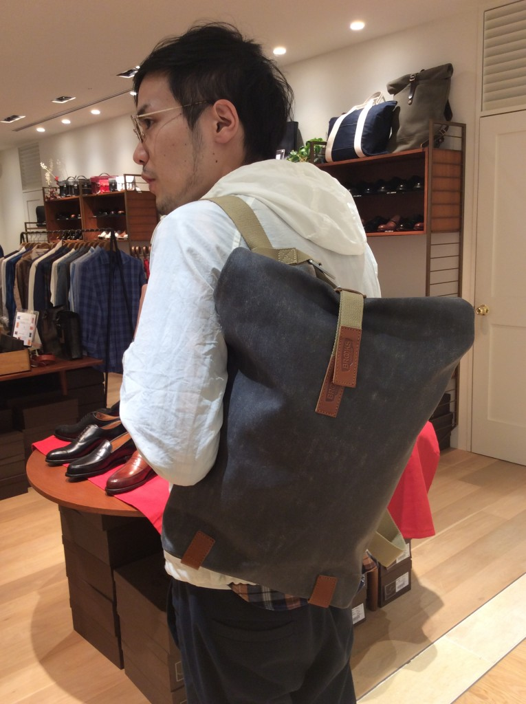 PICKWICK Small Backpack 12L ¥33,600-+TAX