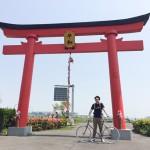 ブルックスのサドルに跨がり、多摩川サイクリングに行ってきました