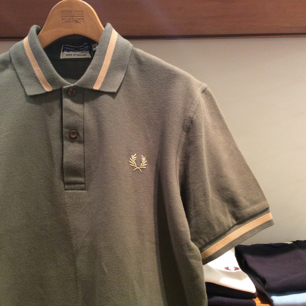 Single Tipped Fred Perry Shirt (MEN) ¥11,000-+TAX