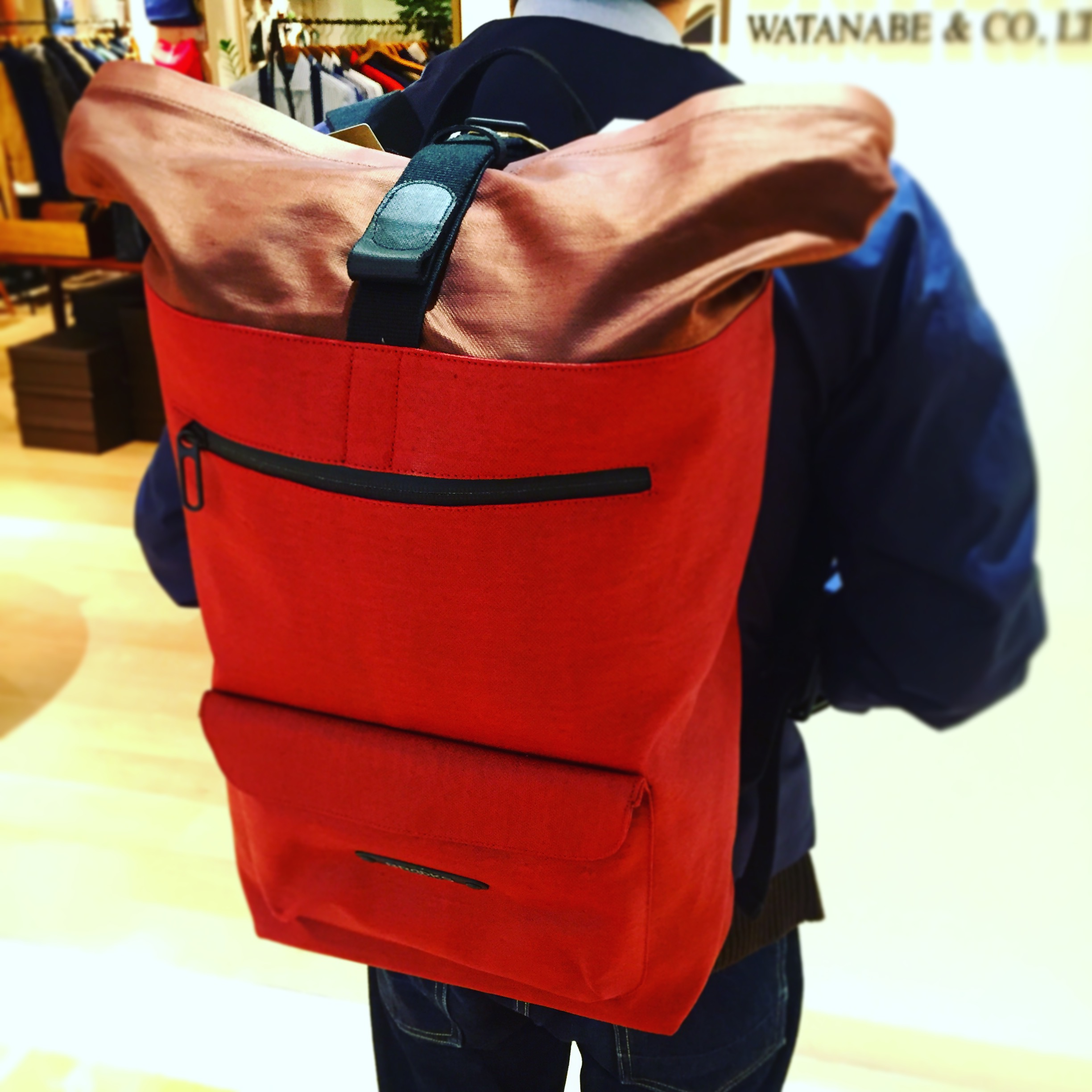 RIVINGTON Backpack ¥42,000-+TAX