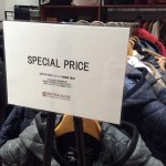SPECIAL PRICEフェア開催のお知らせ