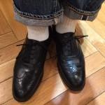 私の初めての英国靴