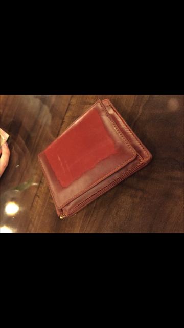 コーヒーが染みてしまった財布