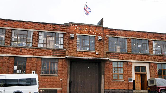 チーニー工場 外観