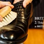 博多店限定開催!BRITISH SHOES FAIR 靴磨きワークショップ