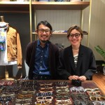 Drake`s銀座店より、nackymade Trunk show 開催中です