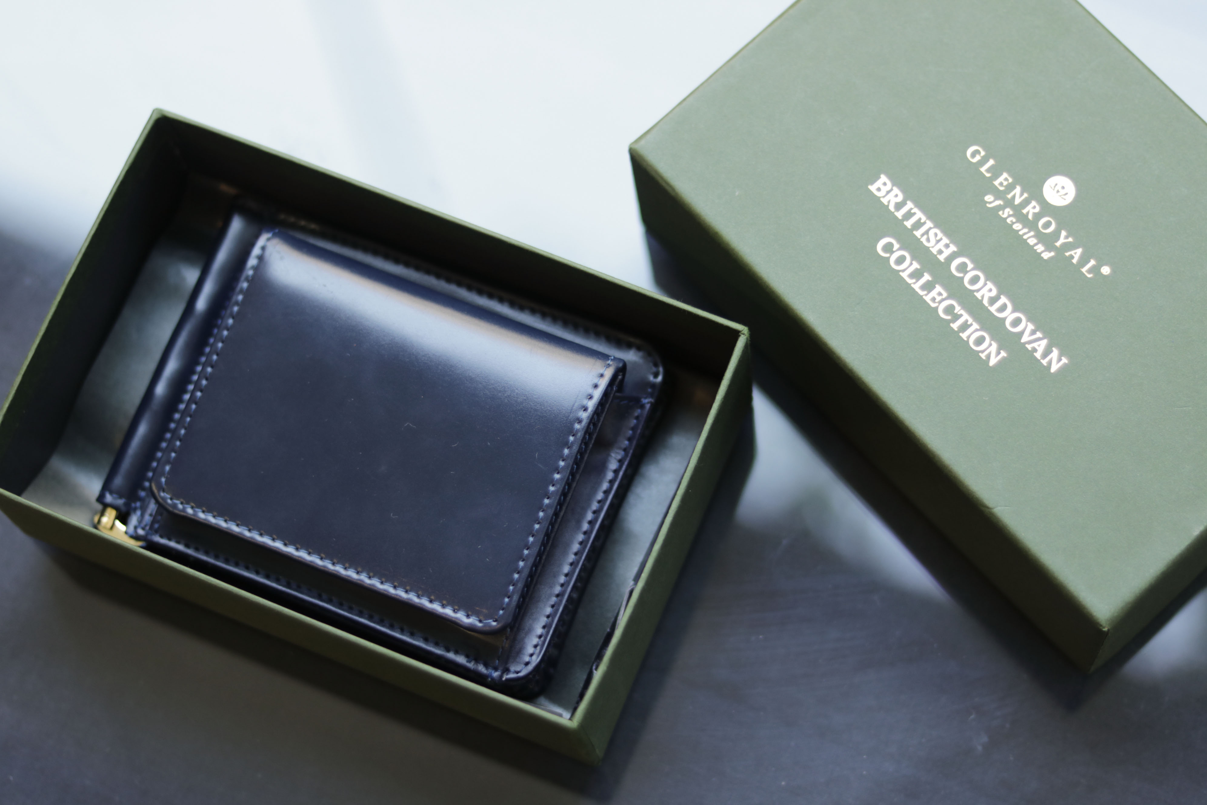 GLENROYAL / グレンロイヤル - MONEY CLIP WITH COIN POCKET 74,520円(税込)