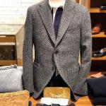 ドレイクスのジャケットが入荷したので、女性が男性にして欲しいネクタイを選んでみました。