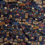 時代を越えたデザインで織り成すドレイクスのプリント柄スカーフ。