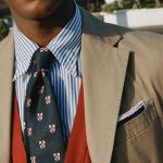 胸ポケットをさり気なく春色に彩る!ドレイクスの2019SS最新ポケットチーフをご紹介