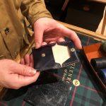 レザー製品を自分の手でハンドメイド!グレンロイヤルのマルチケース作りワークショップを博多店で開催。
