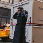 CHRIS BLACK WEARS OUR CITY RAINCOAT  | Drake's銀座店