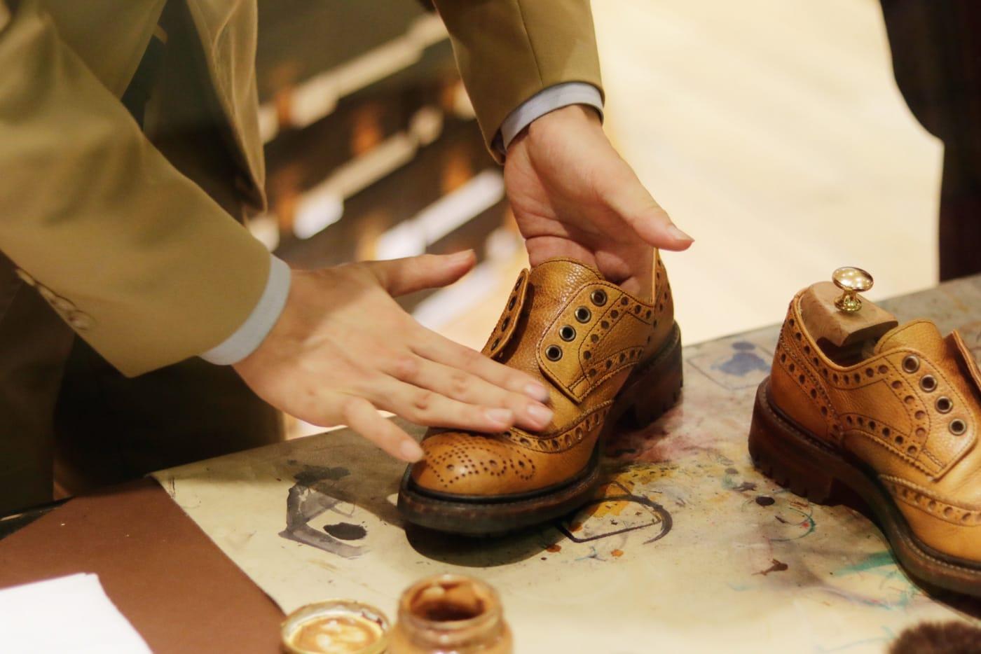 Y's Shoeshine 杉村氏とのコラボレーションライブ配信