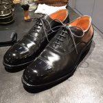 師走の革靴に労いを。靴磨き職人 なかじま なかじ氏を招いた靴磨きイベントを丸の内店で開催!