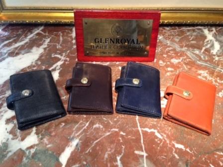 【GLENROYAL】復刻したお財布