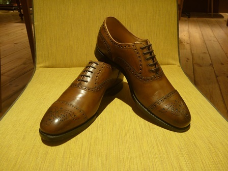 CHEANEY~WILFRED BURNISHED MAHOGANY~