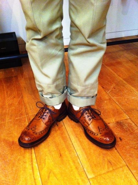 【JOSEPH CHEANEY】カントリーな靴