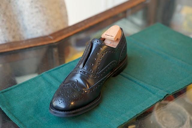 革靴の乾燥