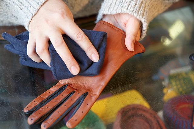 手袋の保管
