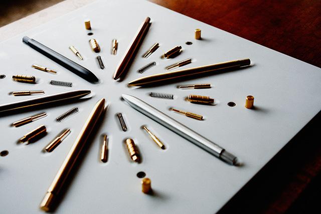 ボールペンのパーツ