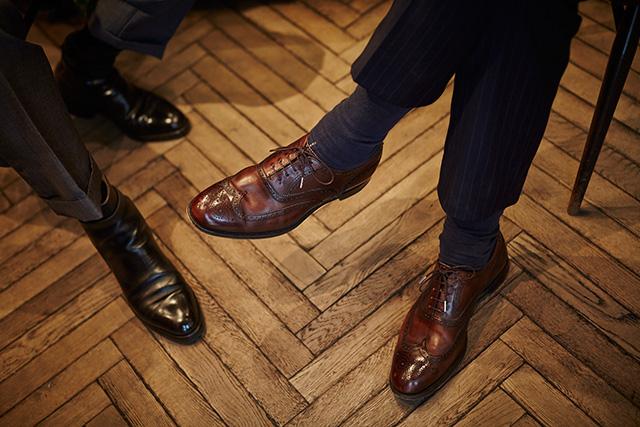 二人の革靴