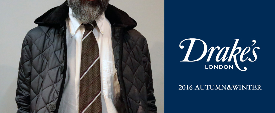 DRAKE'S 2016 AUTUMN&WINTER NEW ARRIVALS