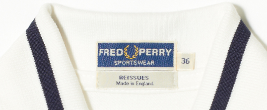 FREDPERRY M2 name tag