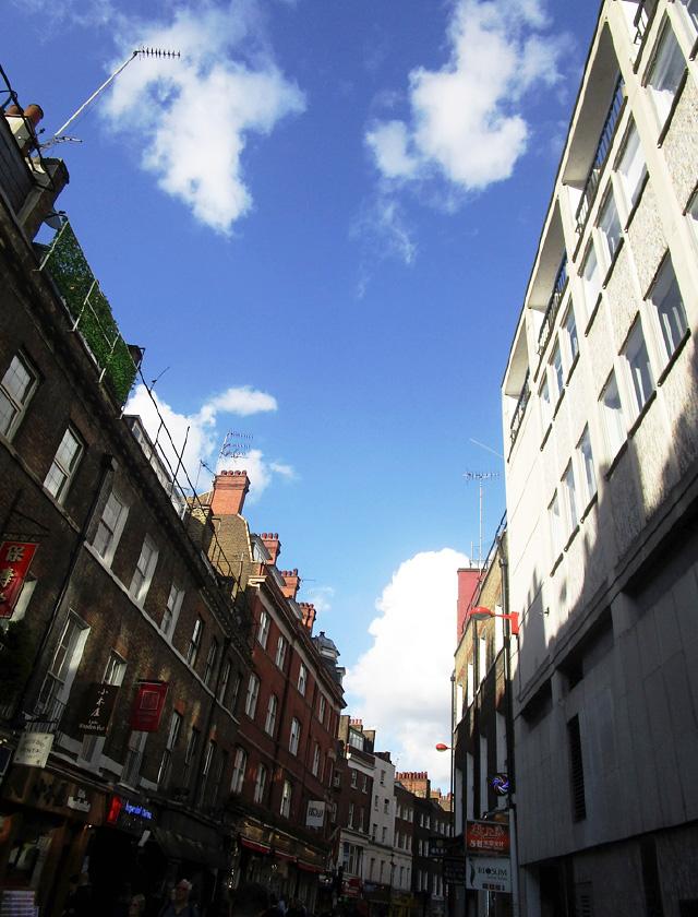 ロンドンの空