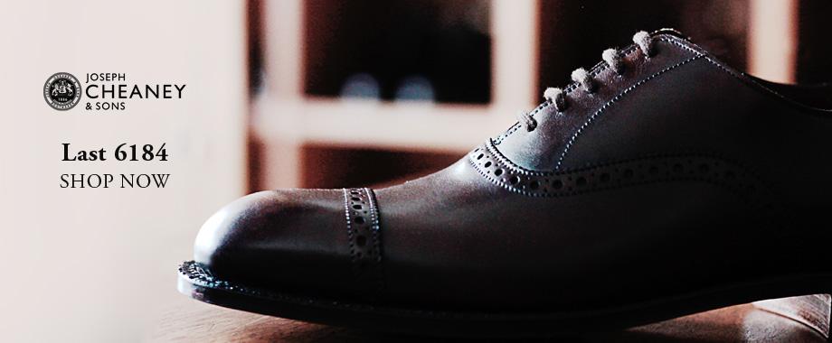 古き良き英国靴が今ここに蘇る。ジョセフチーニーのラスト6184。