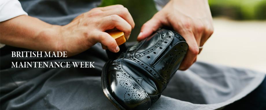 靴磨きなどメンテナンスイベントが目白押し!10月のMAINTENANCE WEEK