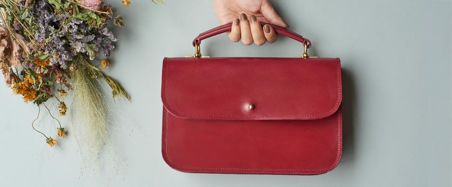 日常を彩り、長く愛せる、大人の女性のためのハンドバッグとお財布ショルダー。グレイスコレクション第2弾