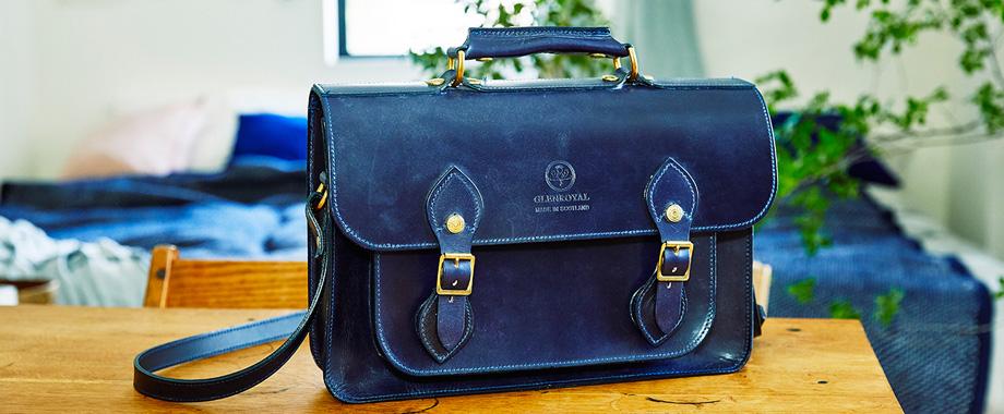 20190327_topics1 グレンロイヤルがブライドルレザーで仕立てた英国ルーツの学生鞄