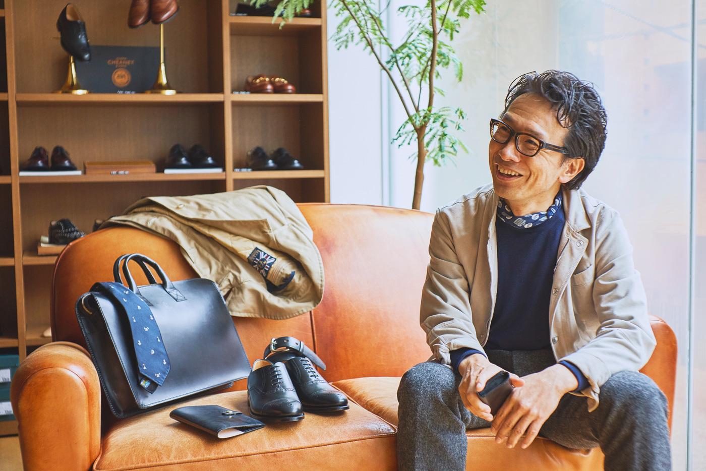 元『Begin』編集長・奥山泰広氏に学ぶ、春夏のビジネススタイルと英国製品の相性