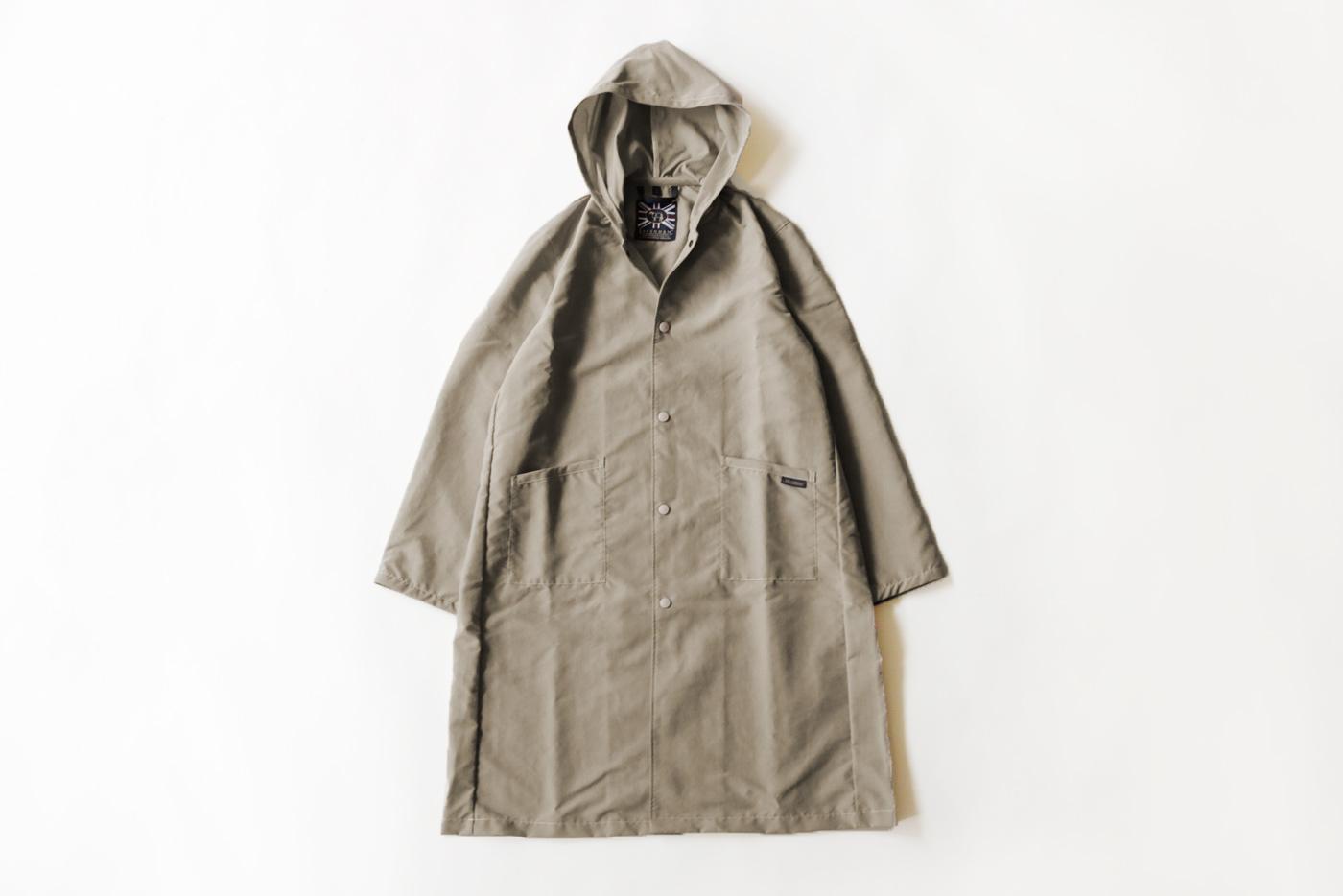20190424_topics 急な雨にも対応するラベンハムのパッカブルコートがブリティッシュメイド別注で新登場4