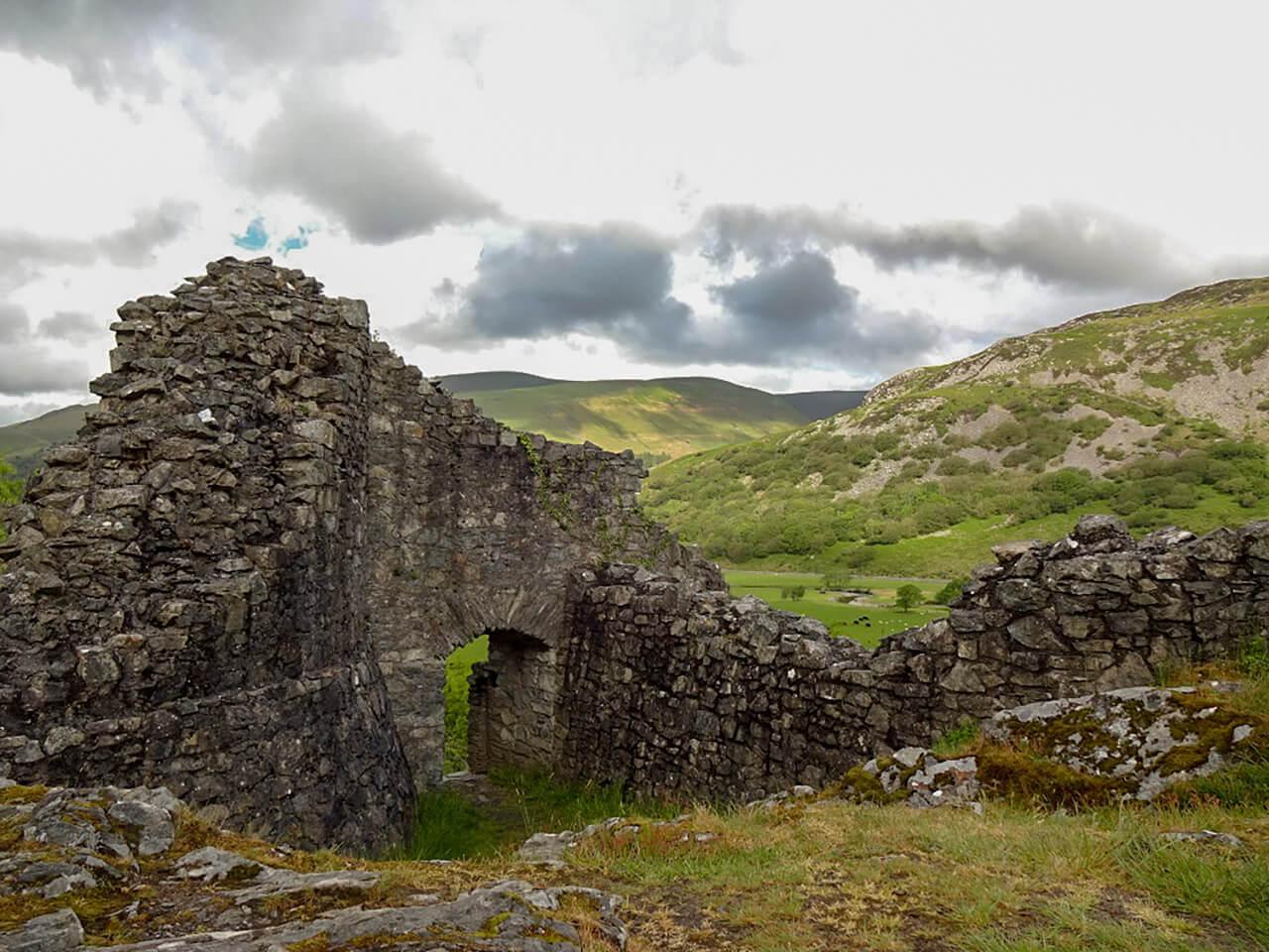 要塞カステル・イ・ベレの城跡