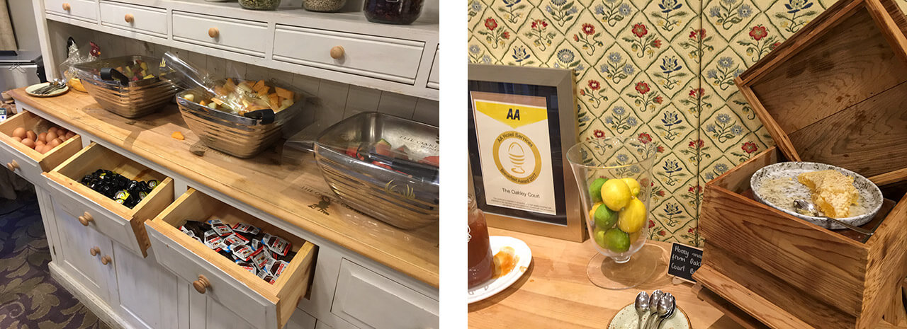 イギリスの家庭のキッチン