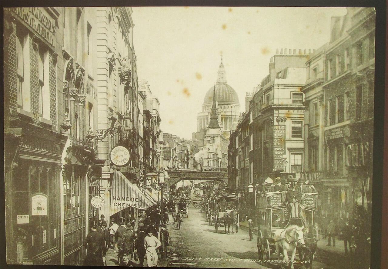 江戸時代末期のロンドン