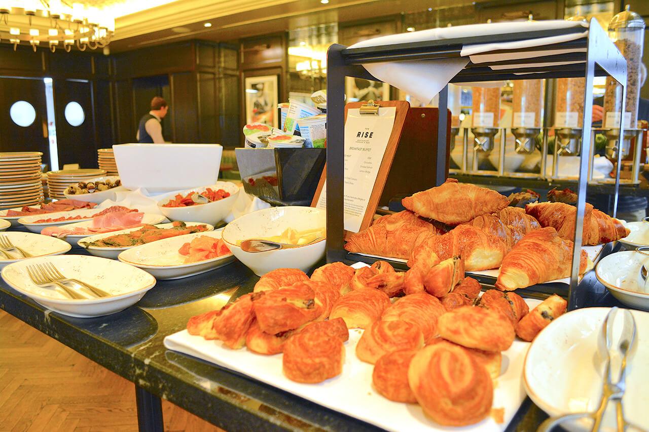 The Grand Yorkの朝食