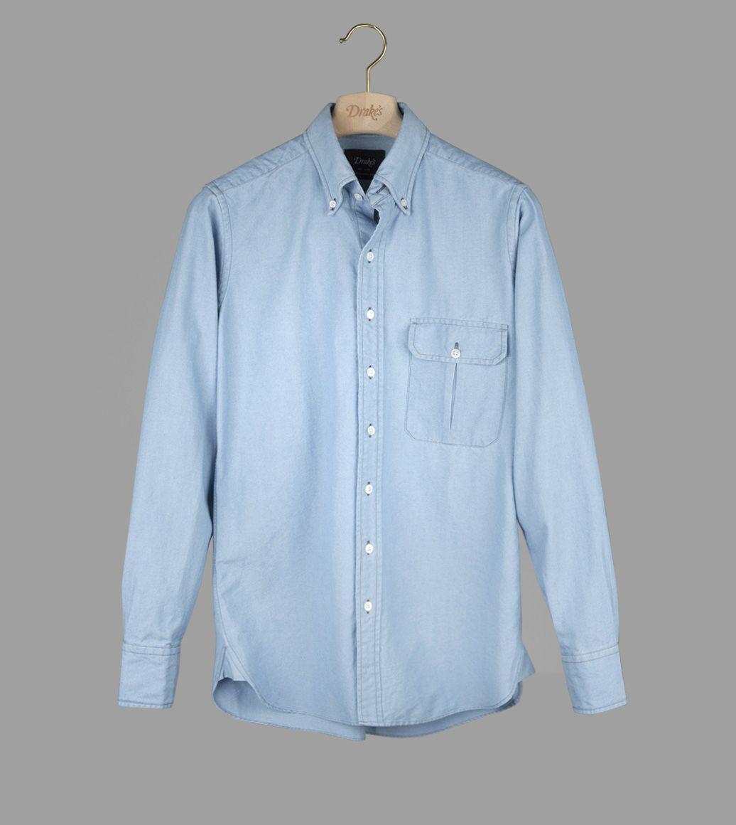 ウォッシュデニムB.Dシャツ