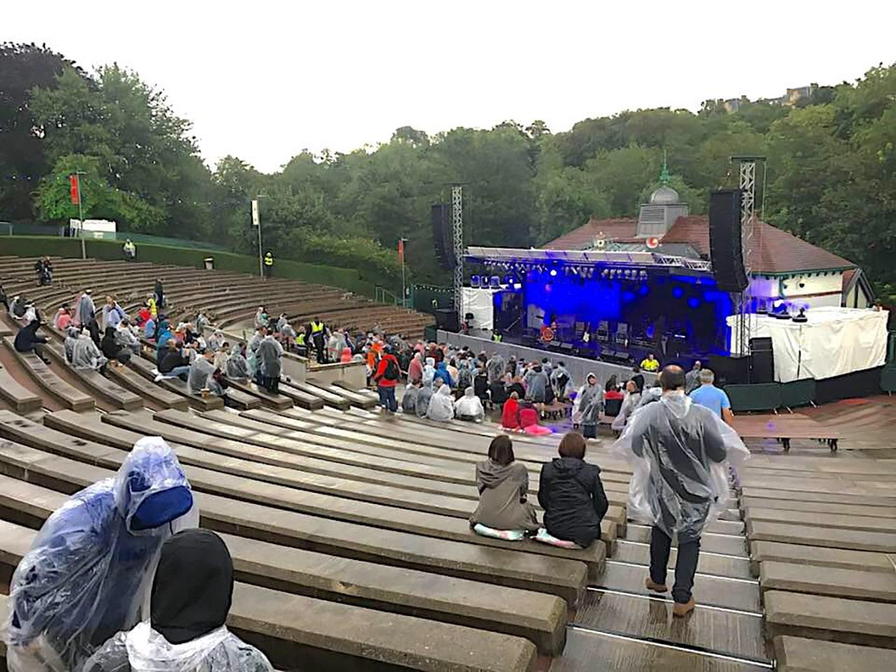 スコットランド・グラスゴーの野外音楽イベント