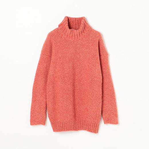 ハイネックニットセーター