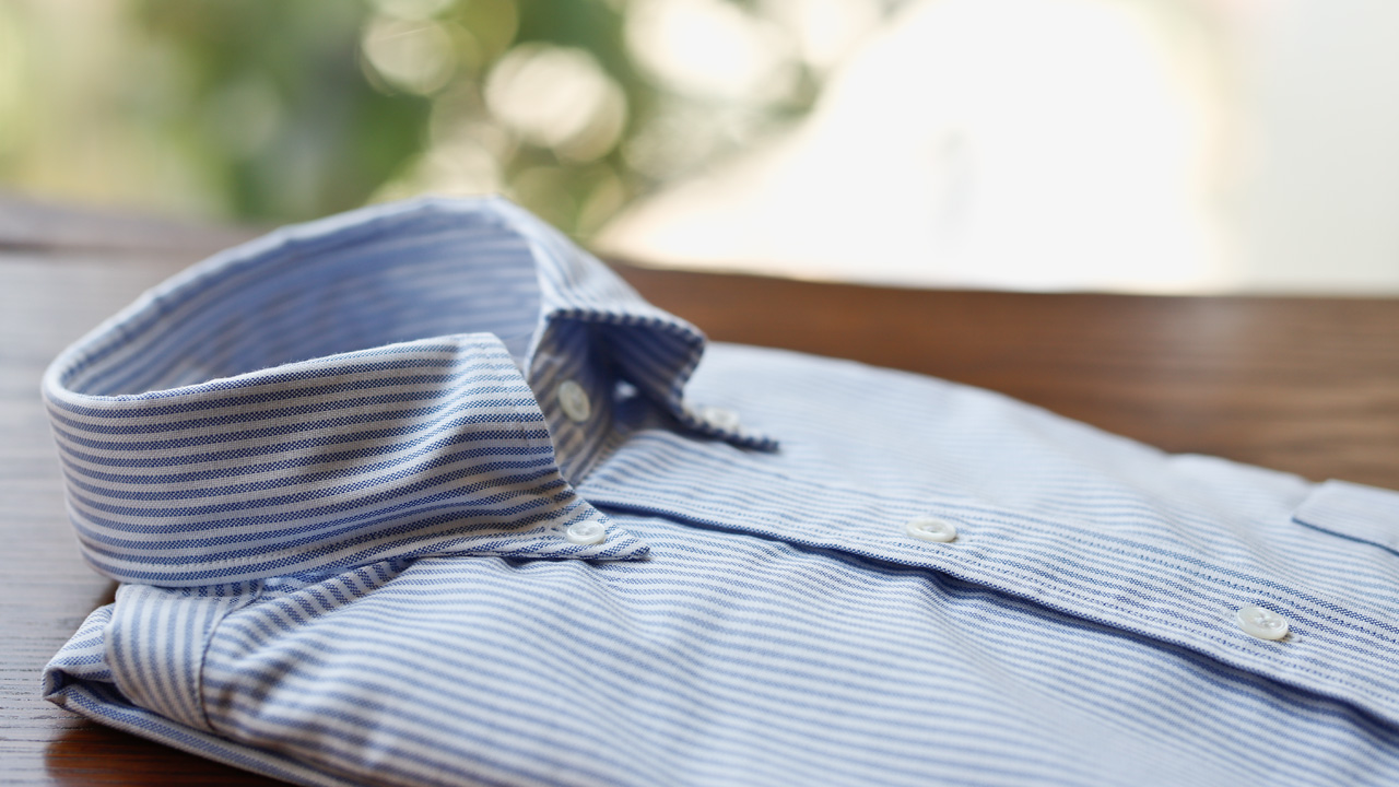 ブリティッシュメイド 青山本店 ドレイクスのボタンダウンシャツ