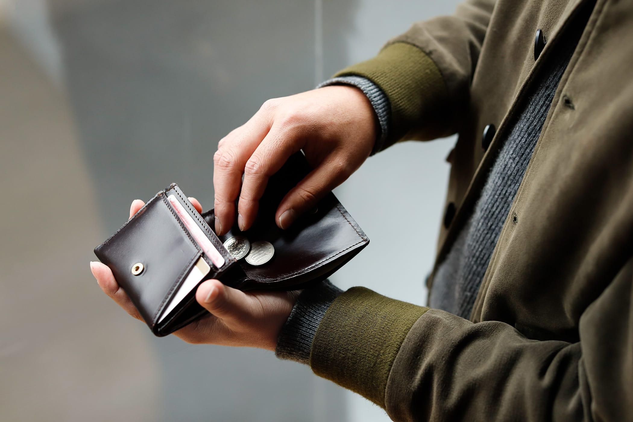 ブリティッシュメイド グレンロイヤルのミニ折り財布