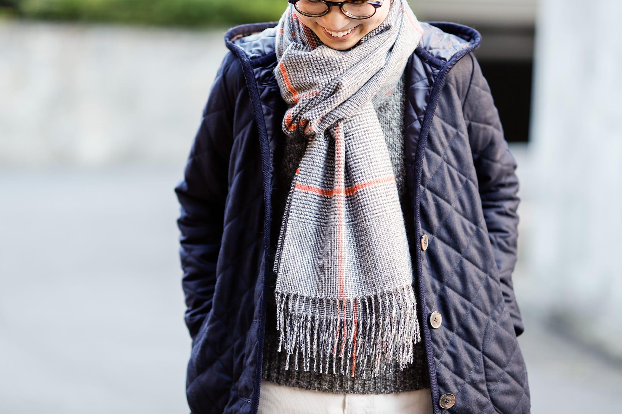 ラベンハム イギリス感たっぷりの休日コーデは防寒性も抜け目なく02