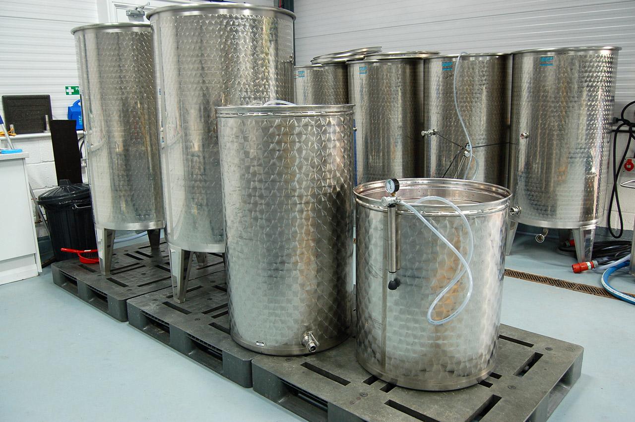 発酵中の赤ワイン