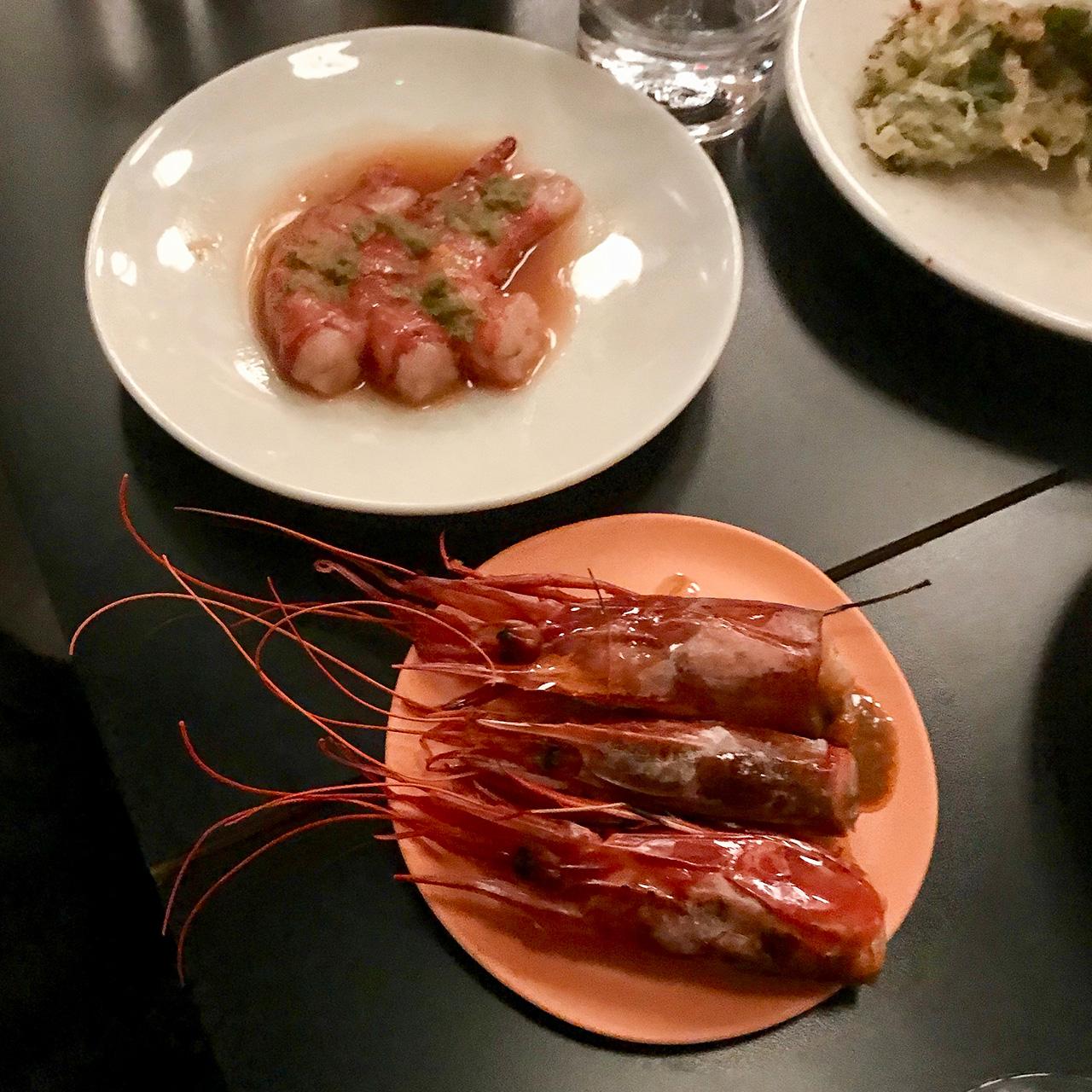 海老と山椒