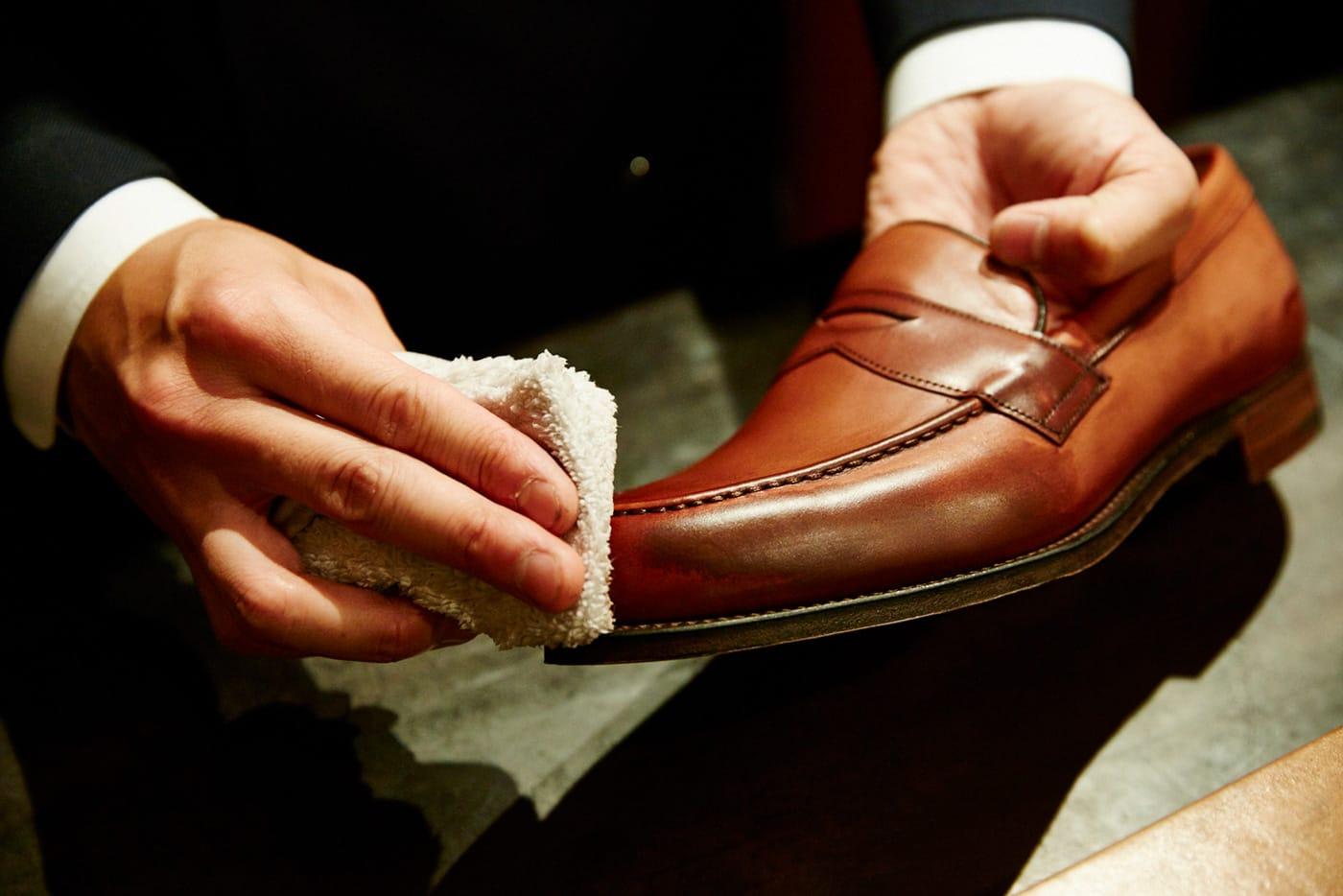 Brift H 長谷川 裕也氏に聞く、濡れた革靴のメンテナンス方法